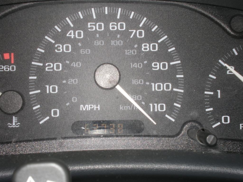 Sherry\'s Light Blog: 120 Miles per Hour!