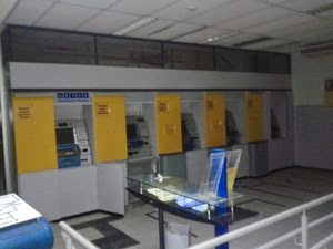 Ataque a caixa eletrônico na cidade de Itororó (Foto: Polícia Civil/Divulgação)
