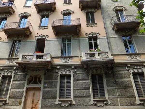 Turin Italie art nouveau Liberty corso francia Casa Macciotta