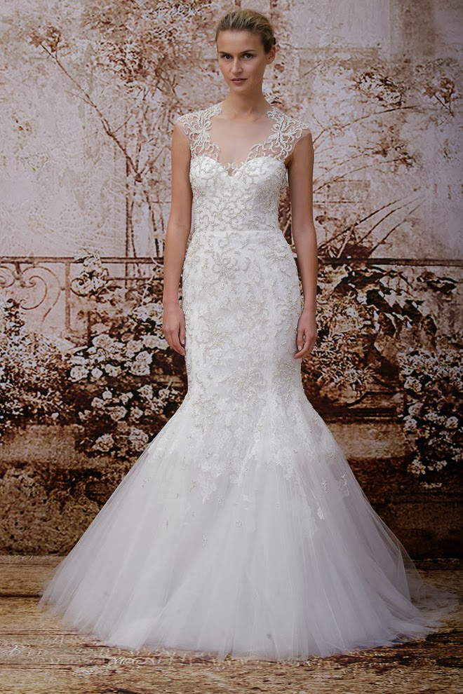 Monique Lhuillier Fall 2014 Bridal Collection - San Diego Wedding ...