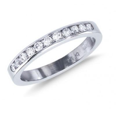 Tiffany Half Circle Diamond Ring