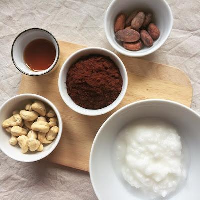 chocolat cru cajou éclats de cacao