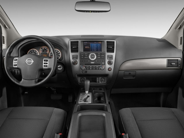 Interior shot of 2011 Nissan Armada