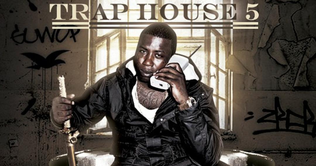 [Album Cover] Gucci Mane   Trap House 5   TeamBrickSquad.com | 1017 Eskimo  Records