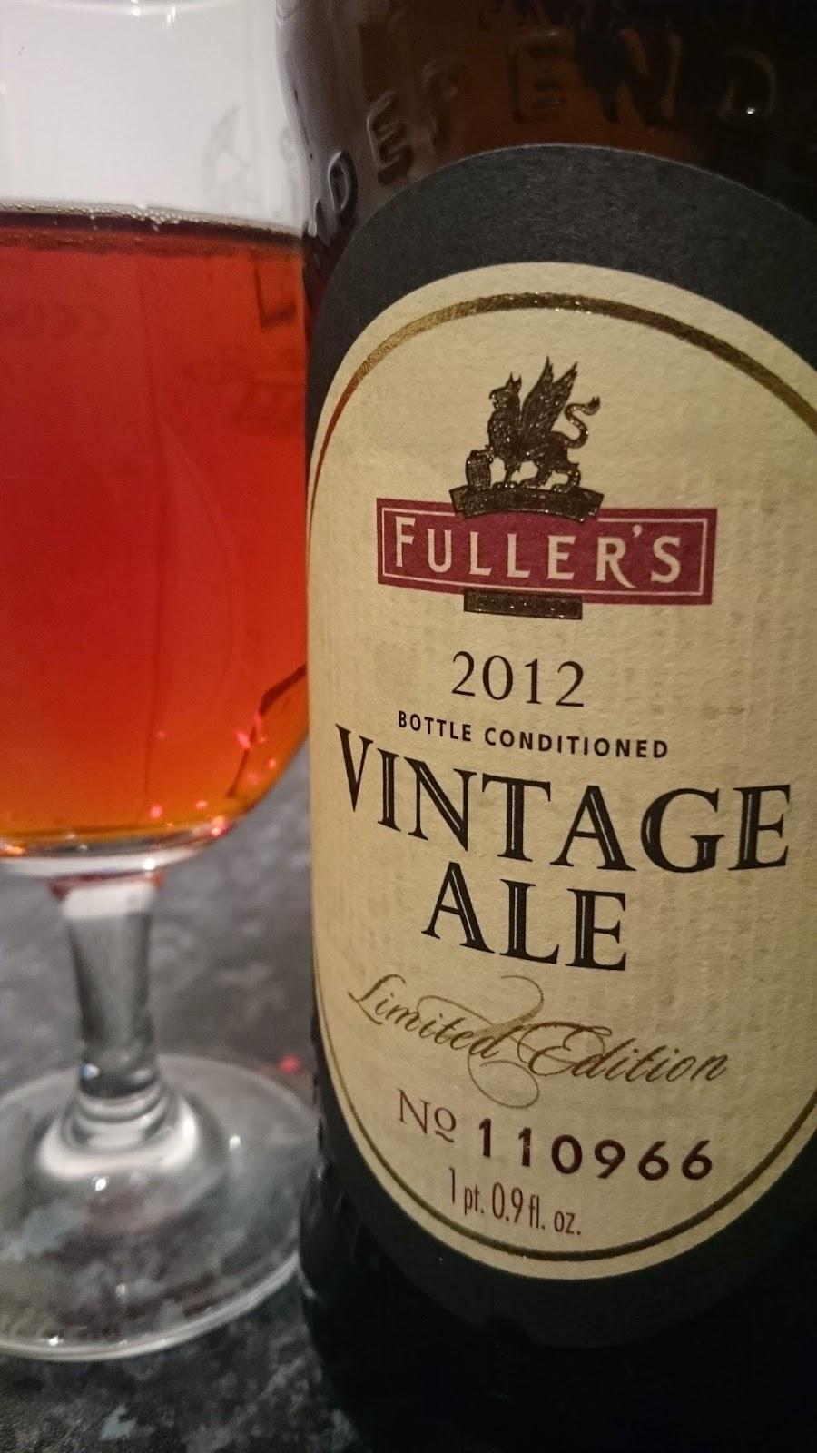 Fuller's Vintage Ale 2012
