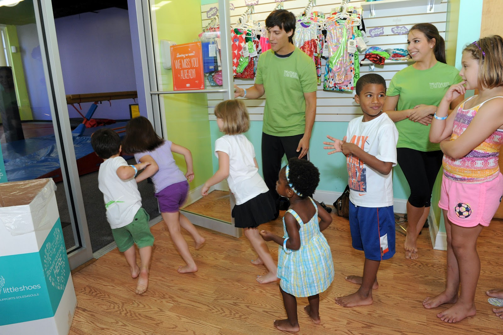 Harlem Lovebirds: The Little Gym Announces Its Big Hearts, Little ...