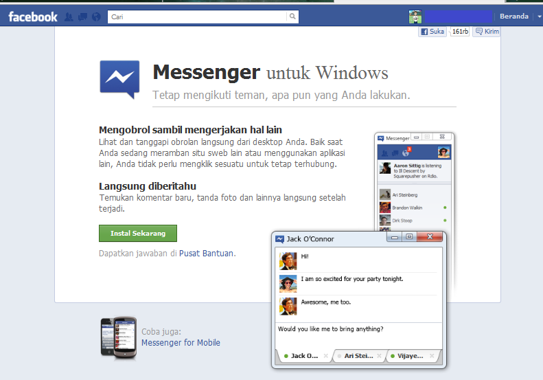 how to download video call on facebook messenger