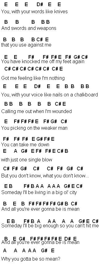 Flute Sheet Music Mean