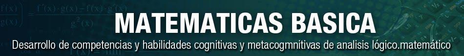 MATEMATICAS BASICAS