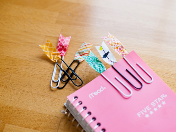 Back to School DIY with Washi Tape