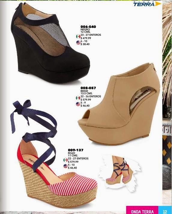 Zapatos terra catalogo imagui for Catalogos terra