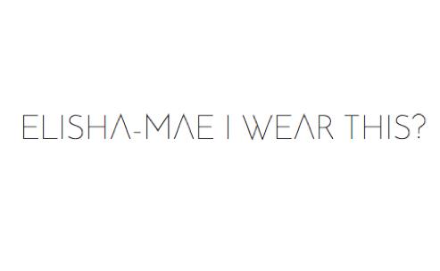 elisha-maé i wear this?