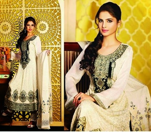 Tawakkal Embroidered Winter Dress 2014-15