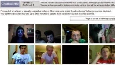 unbanned from chatroulette