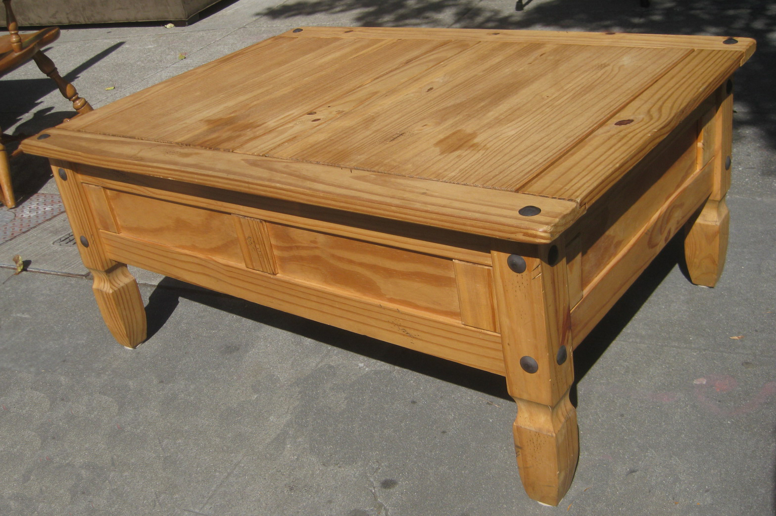 SOLD   Pine Coffee And End Tables   $170