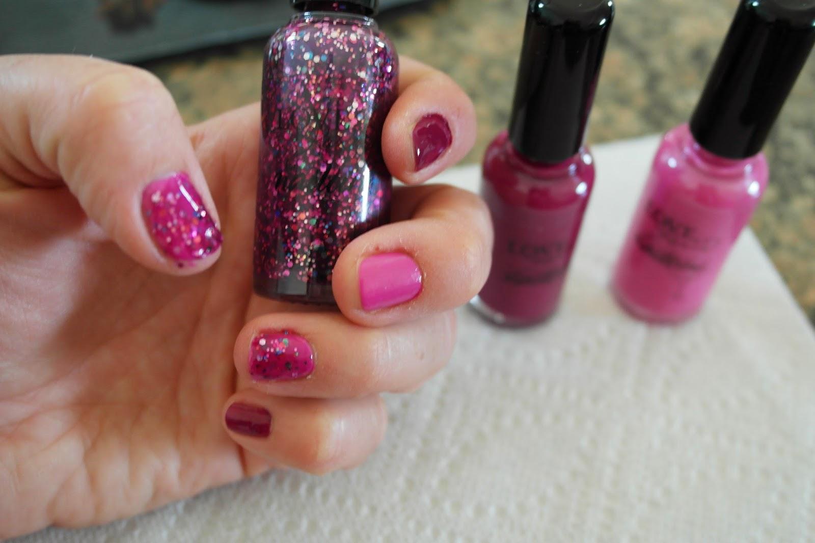 Makeup University Inc: Post ACM and pre-prom Nailtini nail polish ...