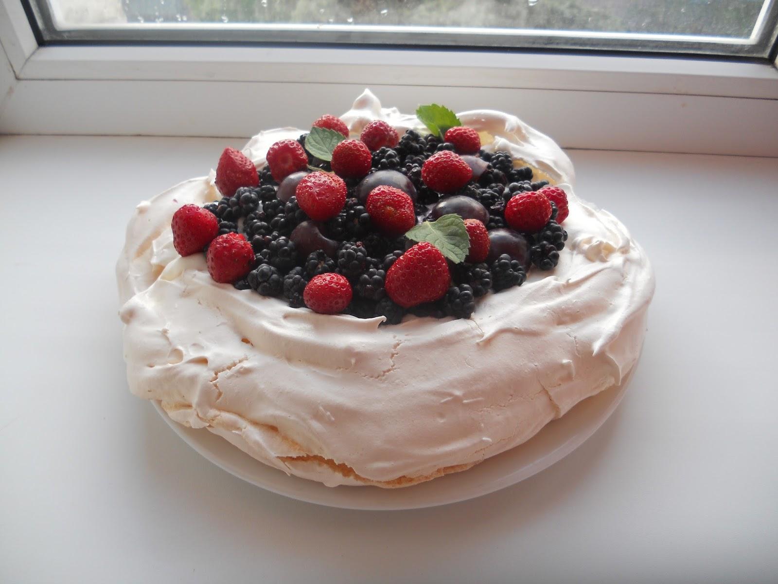 Торт безе павлова рецепт пошагово