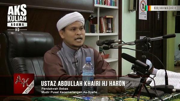 Terkini Ustaz Abdullah Khairi Dengar Orang Kata