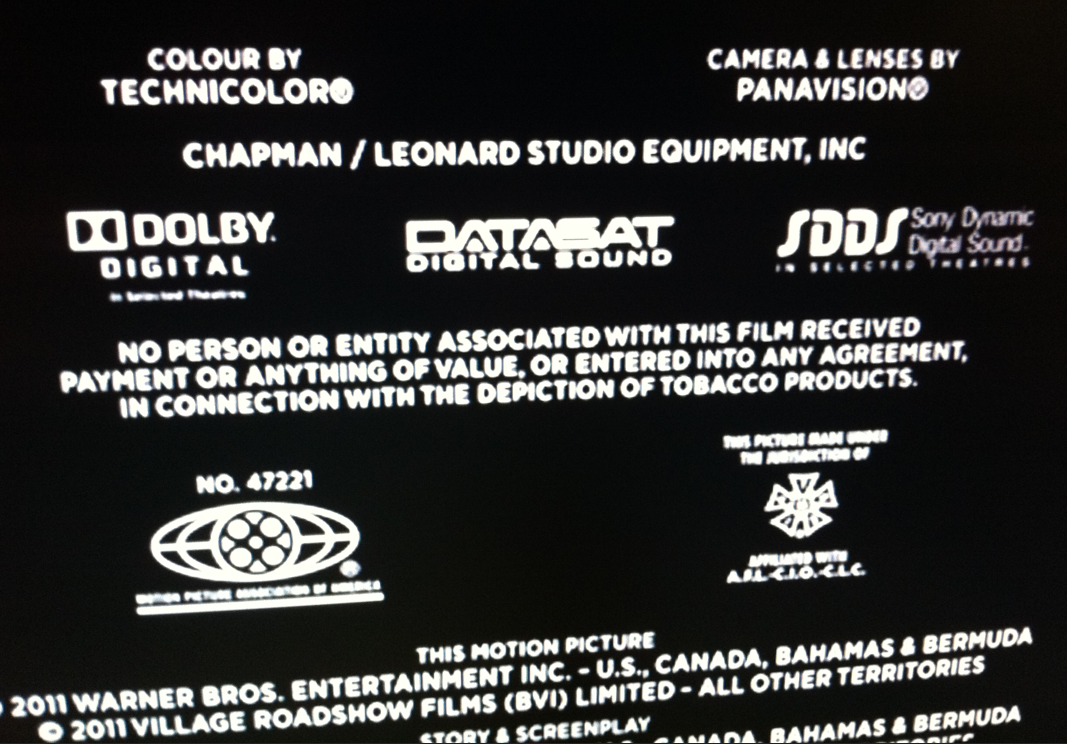 mpaa end credits Car Tuning
