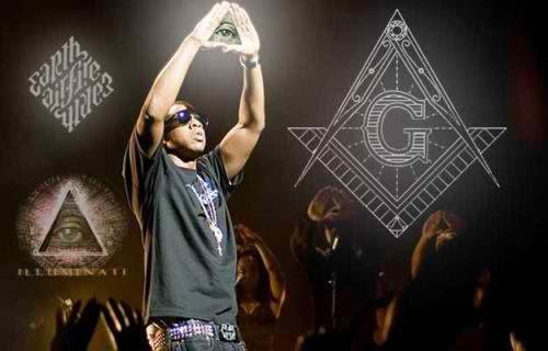 Jay-Z illuminati signs and symbols