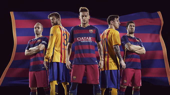 Jersey Bola Barcelona Grade Ori Terbaru