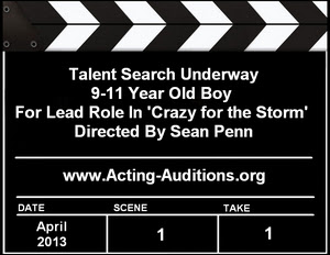 Crazy for the Storm Talent Search