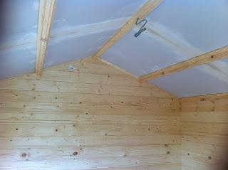 insulating a log cabin