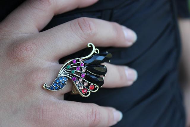 Forever 21 Peacock Ring