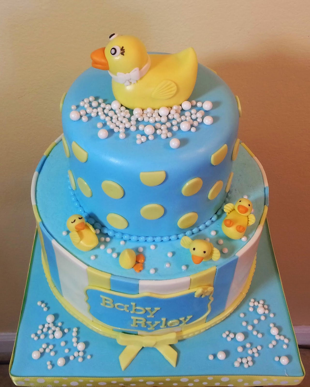 Cake Decorating Pueblo Co : Cake & Dreams: Rubber Ducky Baby Shower Cake