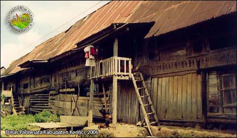 Peninggalan Sejarah Kerinci RumahLaheik