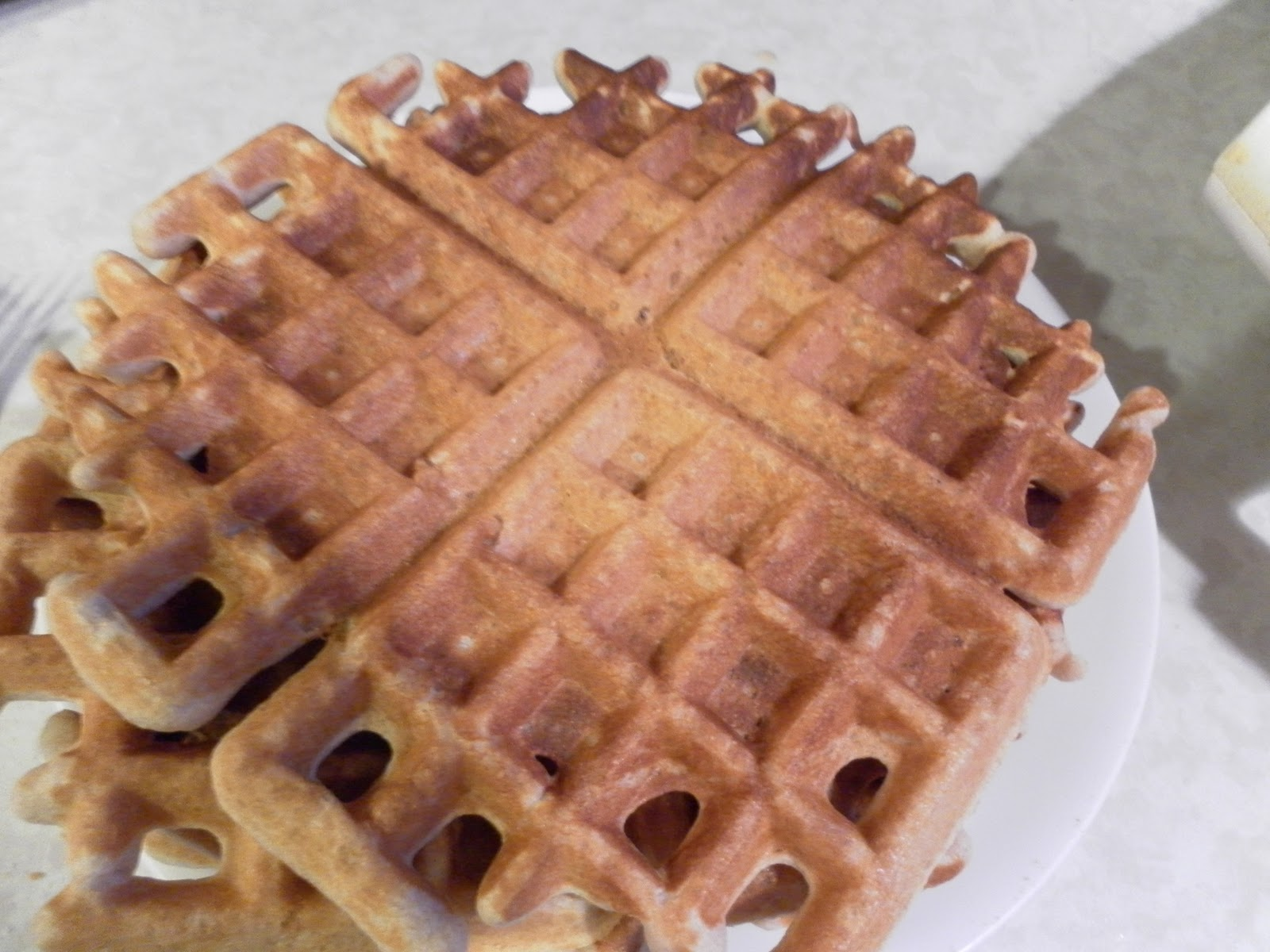 Nine for Dinner: Whole Wheat Waffles