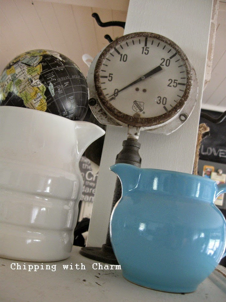 Chipping with Charm:  Repurposed Gauge...http://www.chippingwithcharm.blogspot.com/