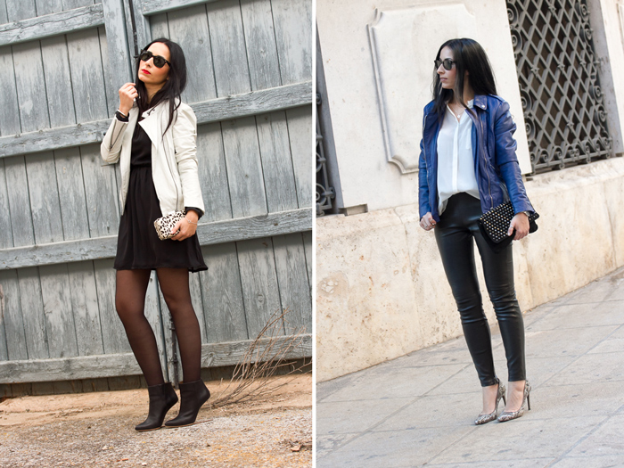 Looks estilo femenino chic rock de la blogger valenciana withorwithoutshoes