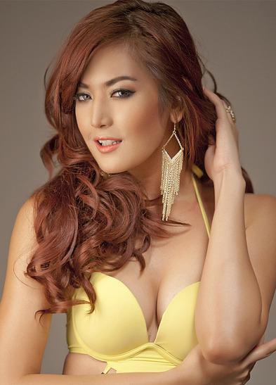 Foto Kontes Bikini Miss Universe 2012 Maria Selena