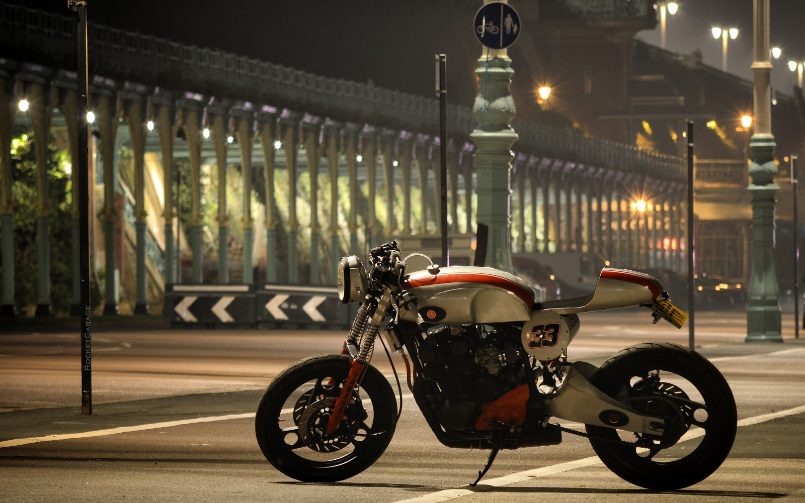 Cafe Racer Yamaha Diversion