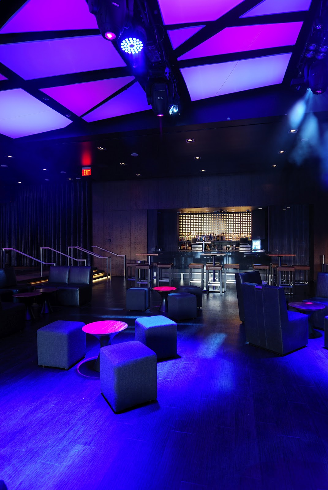 nightclub interior design cube dmac