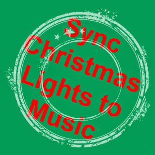 sync christmas lights to music