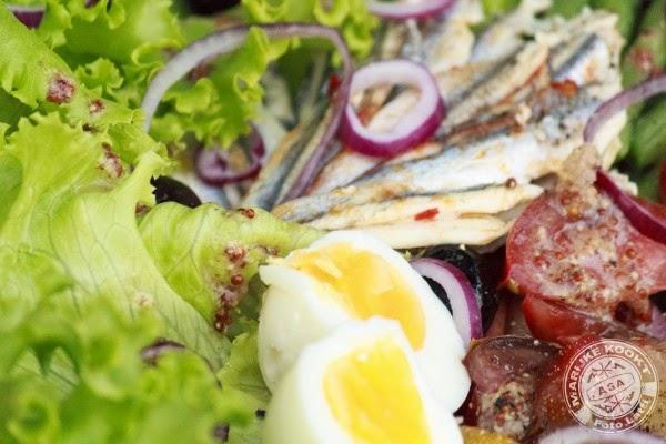 Mijn Provençaalse salade Niçoise