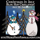 Christmas in July blog hop challenge