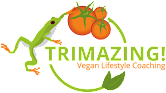 Click the logo below to go to our website: Trimazing! Vegan Lifestyle & Health Coaching