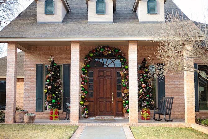 ¿Cómo decoran las casas para Navidad en Estados Unidos?