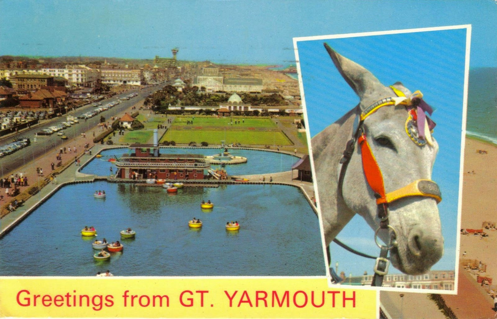 Marine Parade Great Yarmouth Norfolk 1970s