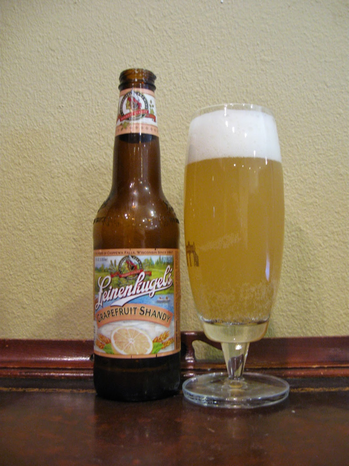 Where to buy leinenkugel s grapefruit shandy - The Taste Follows The Aromas Zesty And Tangy Grapefruit With Light Grapefruit Bitterness Over Toast It Drinks Very Easy And Refreshing