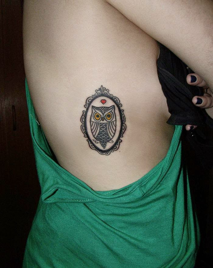 7 Mysterious Owl Tattoo Designs