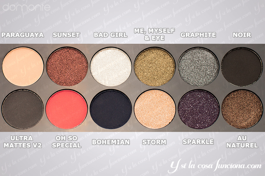 Right order on Showstoppers Palette Sleek
