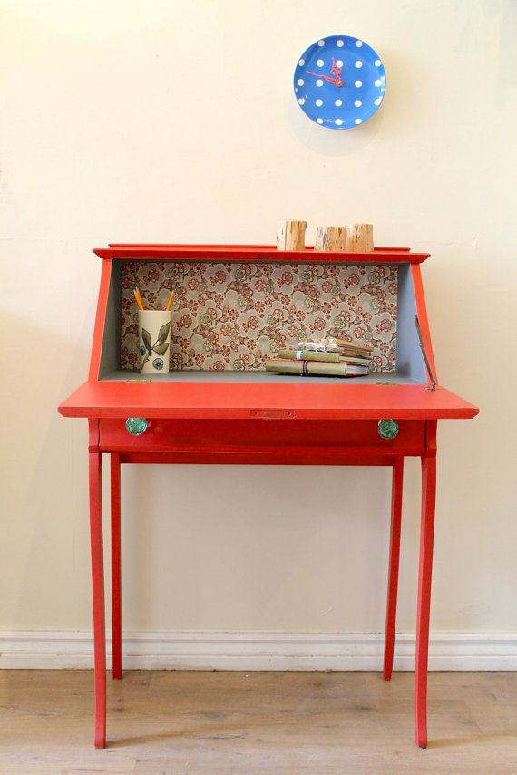 La fabrique d co le secr taire petit coin bureau for Petit secretaire