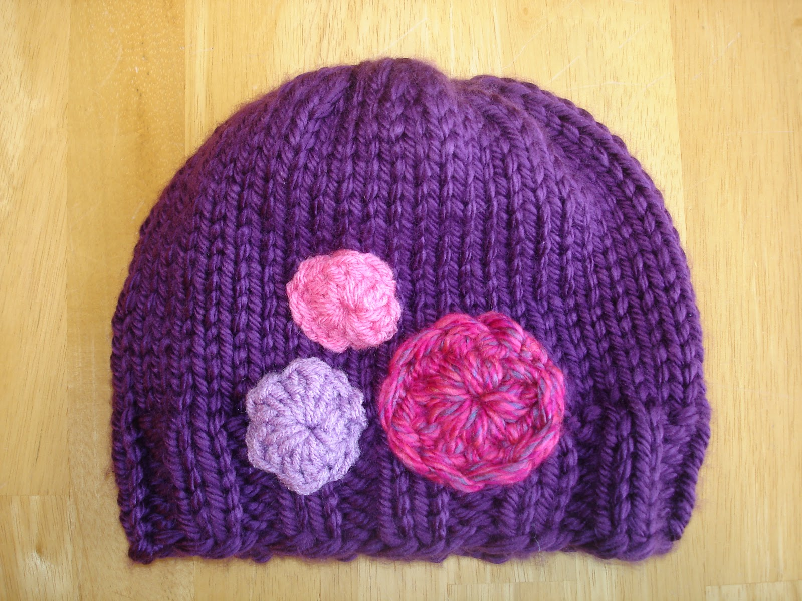 Free Knitted Beanie Patterns For Kids : Fiber Flux: Free Knitting Pattern! Her Royal Highness Hat...