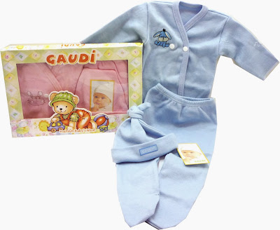 ropa de bebe gaudi chikylu