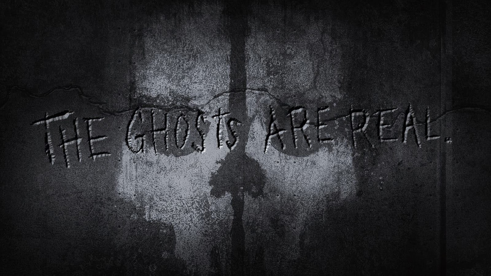 Ghosts cod the ghost are real video game hd wallpaper 1600x900 a318