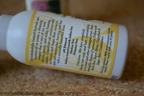 Burts Bees Super Shiny Grapefruit and Sugar Beet Shampoo Reviews